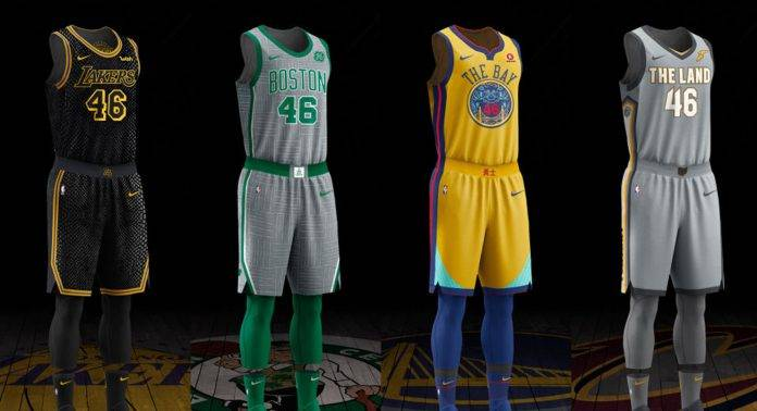 Nike City Edition NBA - Stone Forest