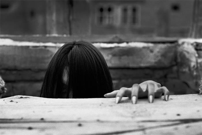 Девушка Садако из фильма Звонок - Stone Forest