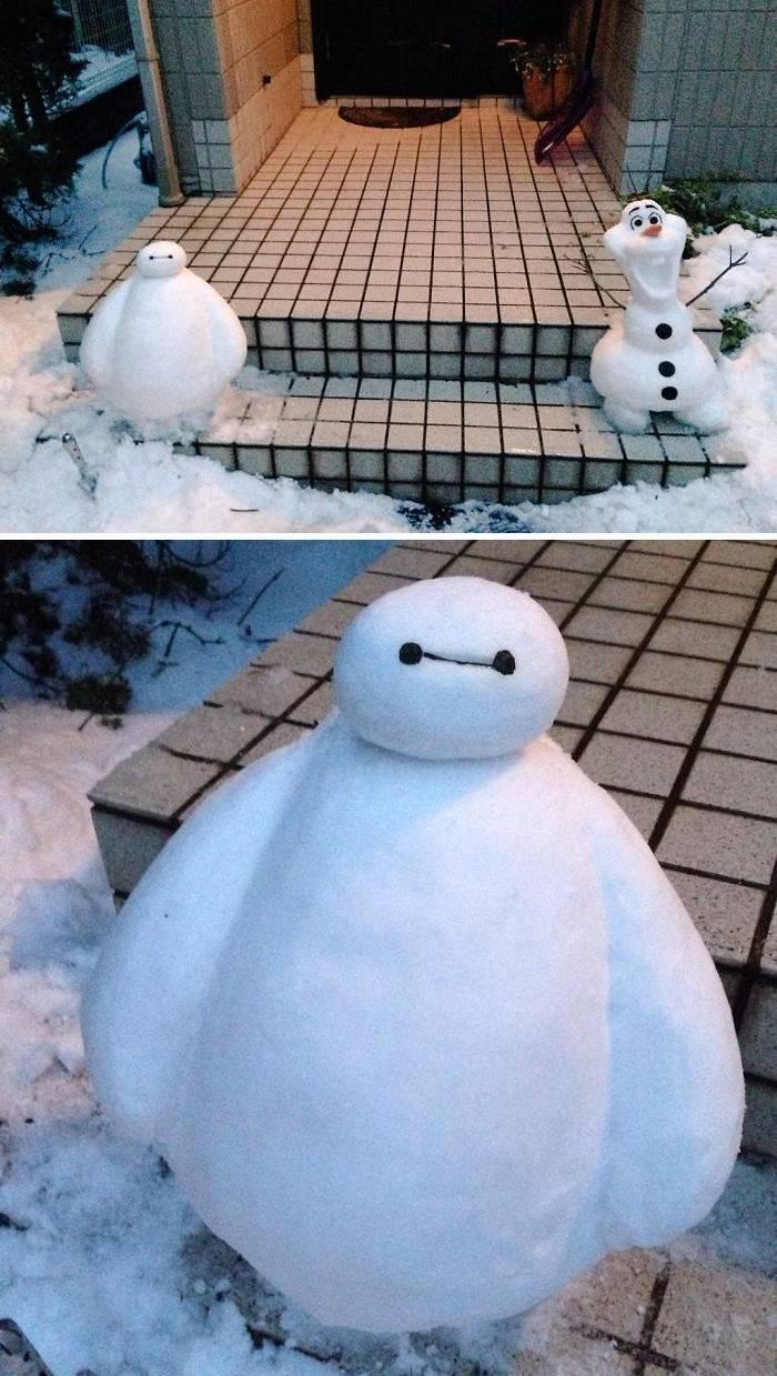 Японские снеговики - Stone Forest