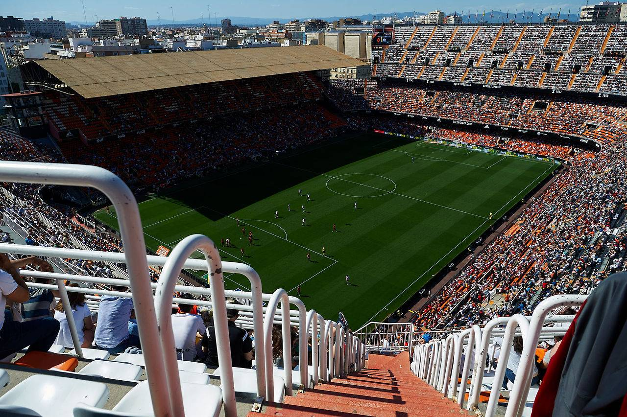 Стадион ФК Валенсия Месталья - Stone Forest