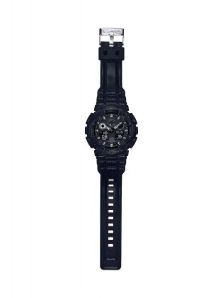 Модель часов G-SHOCK BLACK LEATHER TEXTURE - Stone Forest