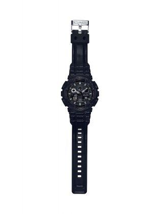 Модель часов G-SHOCK BLACK LEATHER TEXTURE - Stone Forest