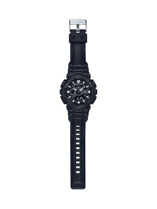 Мужские часы Casio G-SHOCK BLACK LEATHER TEXTURE - Stone Forest