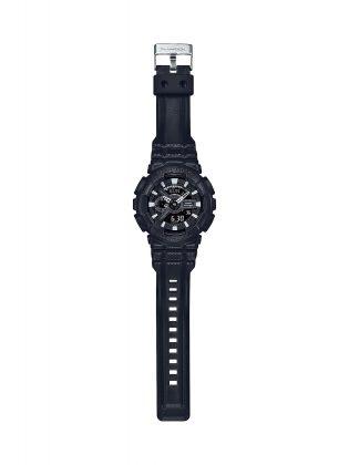 Мужские часы Casio G-SHOCK BLACK LEATHER TEXTURE - Stone Forest