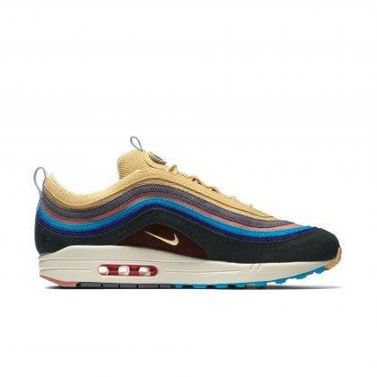 Релиз модели Nike Air Max 1/97 SW - Stone Forest