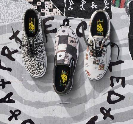 Vans x A Tribe Called Quest - Stone Forest