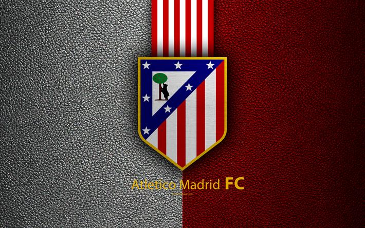 Лого ФК Атлетико Мадрид - Stone Forest