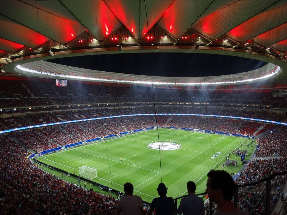 Стадион ФК Атлетико Мадрид - Stone Forest