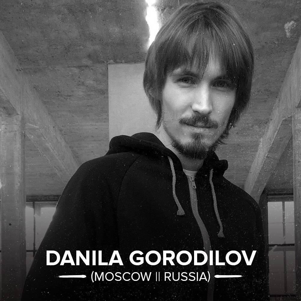 Шестой участник DANILA GORODILOV Secret Walls x Craft Comics Riots