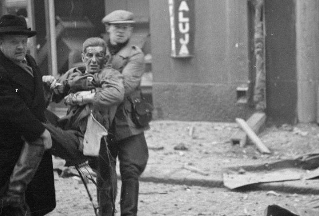 Раненый во время бомбардировки Хельсинки со стороны СССР - Stone Forest