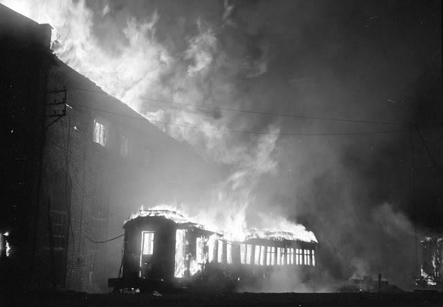 Улицы Хельсинки во время бомбардировки СССР - Stone Forest