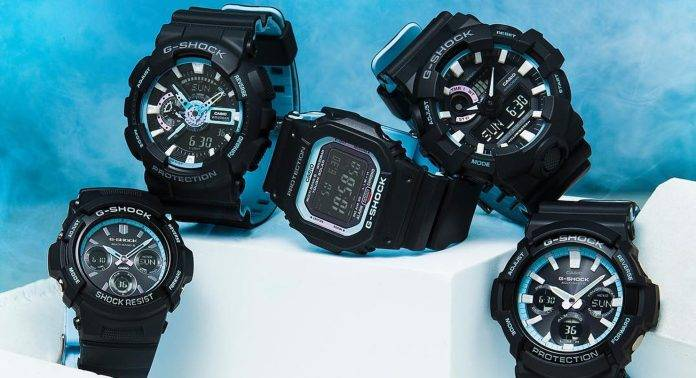 G-SHOCK NEON ACCENT - Stone Forest