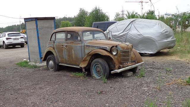 Машина Москвич-400 - Stone Forest