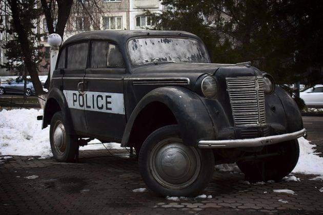 Советский автомобиль Москвич-400 - Stone Forest