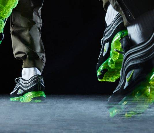 Nike Air Vapormax 97 x BELIEF MOSCOW Summer Editorial - Stone Forest