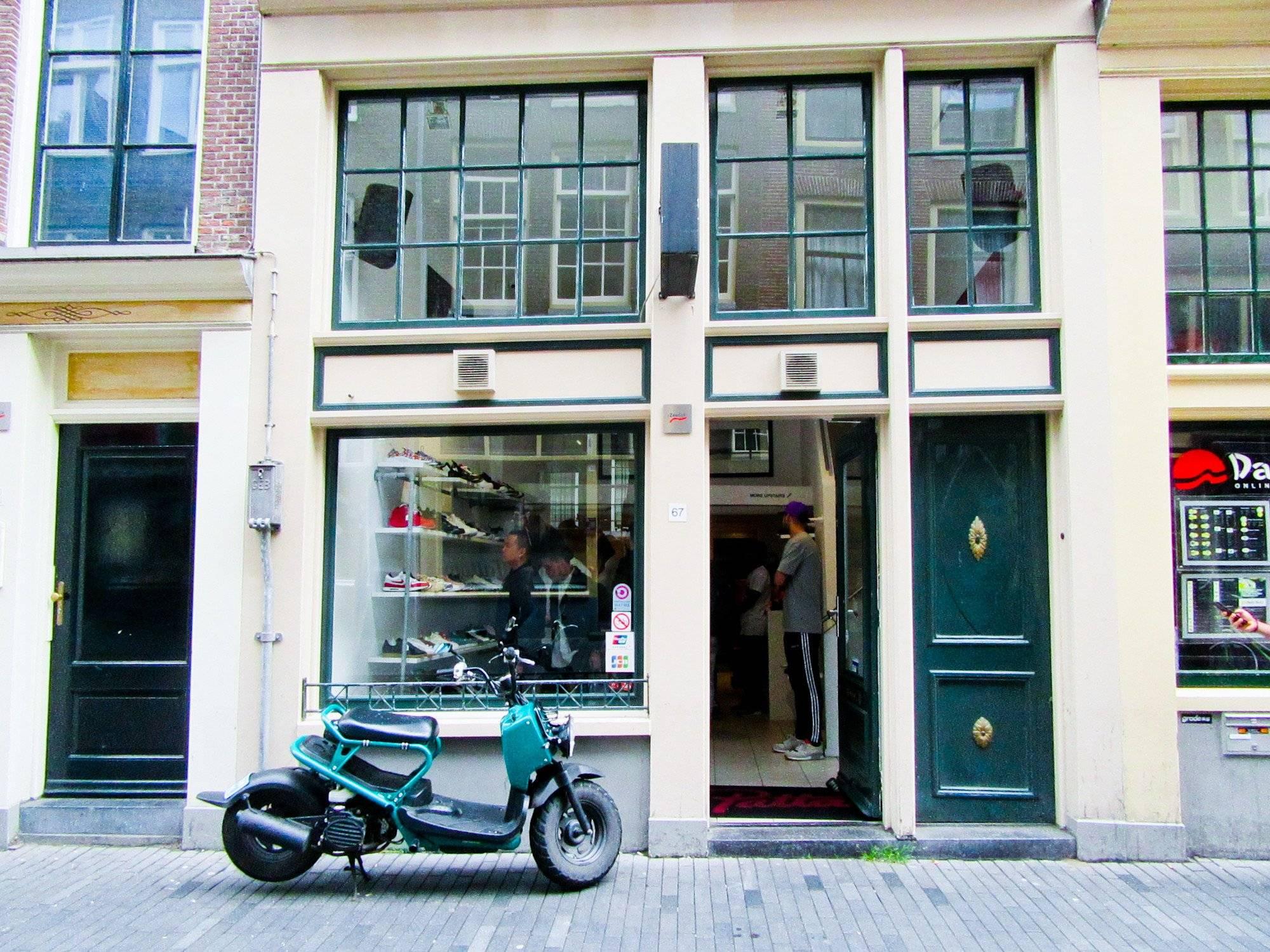 Магазин уличной одежды из Нидерландов - Patta