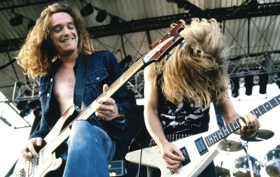 Первые в жанре трэш-метал, группа Metallica