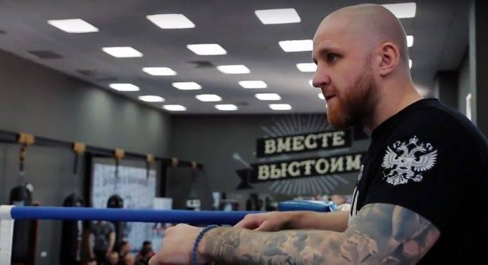 Видео с открытого ринга ЦЕ