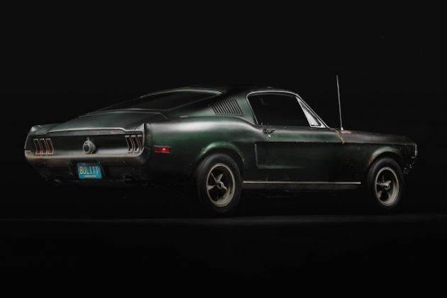 Авто 1968 Ford Mustang GT - Каменный лес Stone Forest