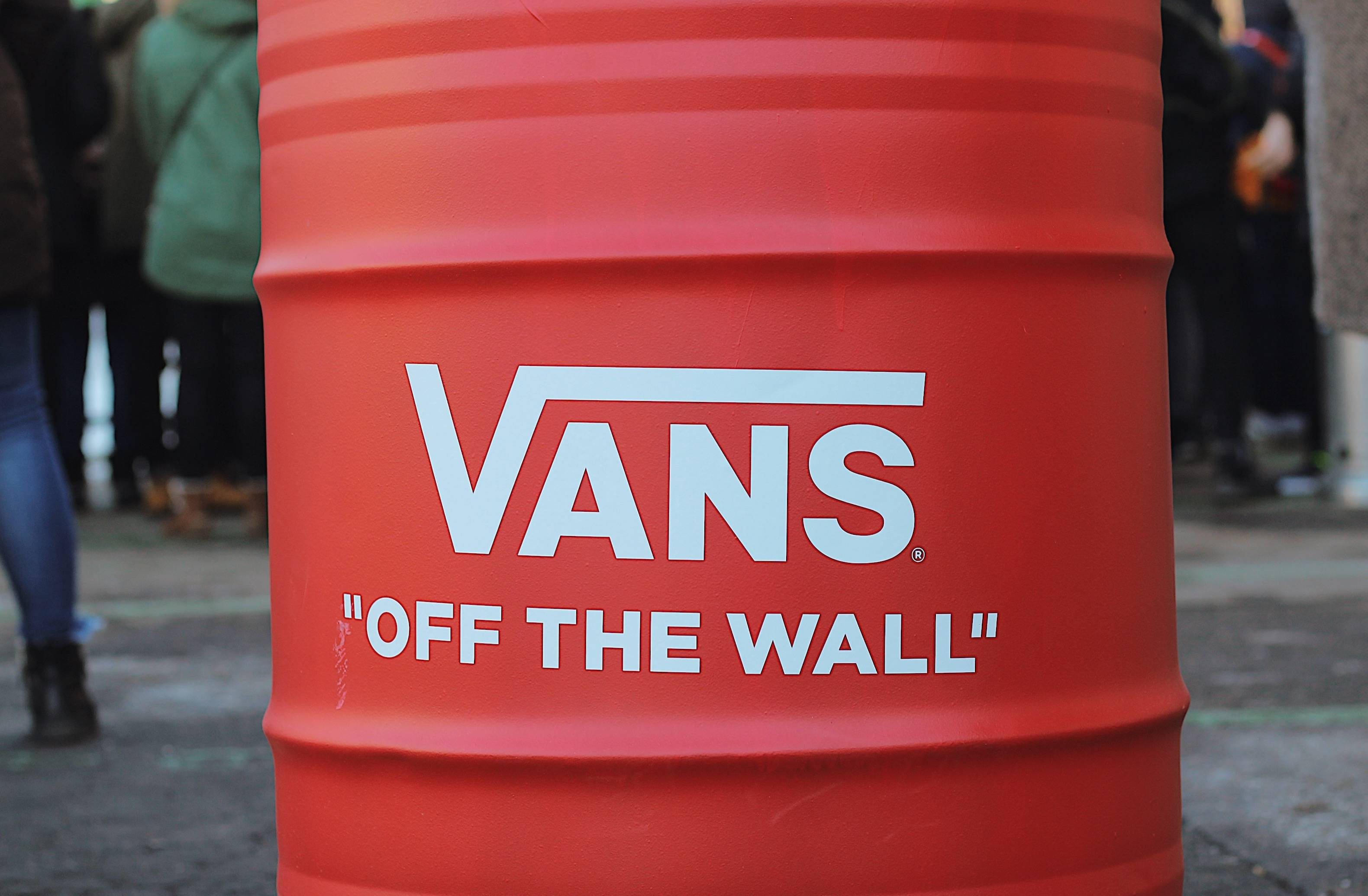 Vans off the wall city session - Stone Forest