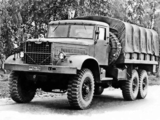 Автомобиль ЯАЗ-214 - Stone Forest
