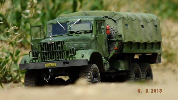 Военная машина ЯАЗ-214 - Stone Forest