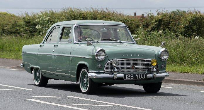 Ford Consul - Stone Forest