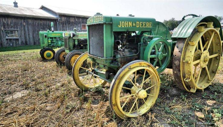 Сельхозтехника John Deere - Stone Forest