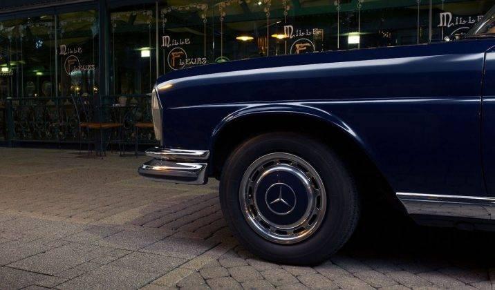Модель авто Мерседес Бенц 280 - Stone Forest