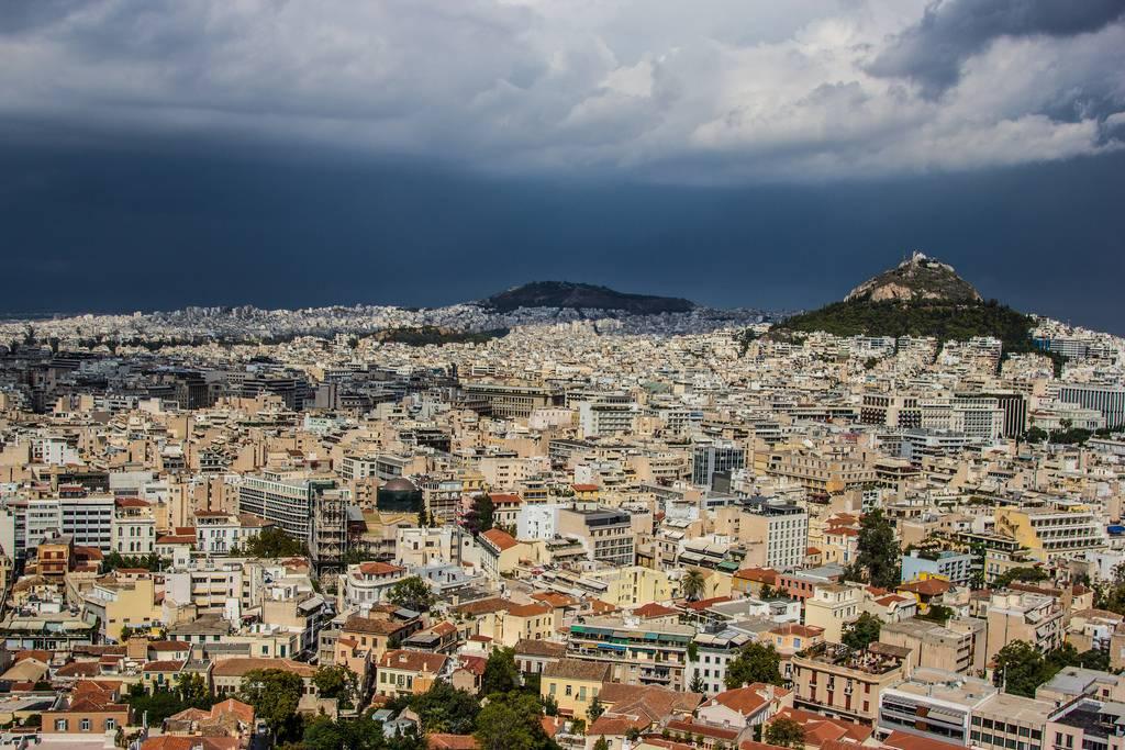 Город Афины Греция - Stone Forest