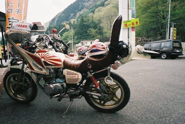 Босодзоку мотоцикл - Stone Forest