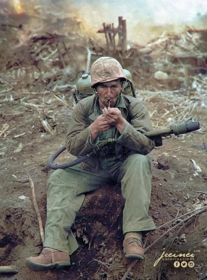 Американский Огнемет М2 - Stone Forest