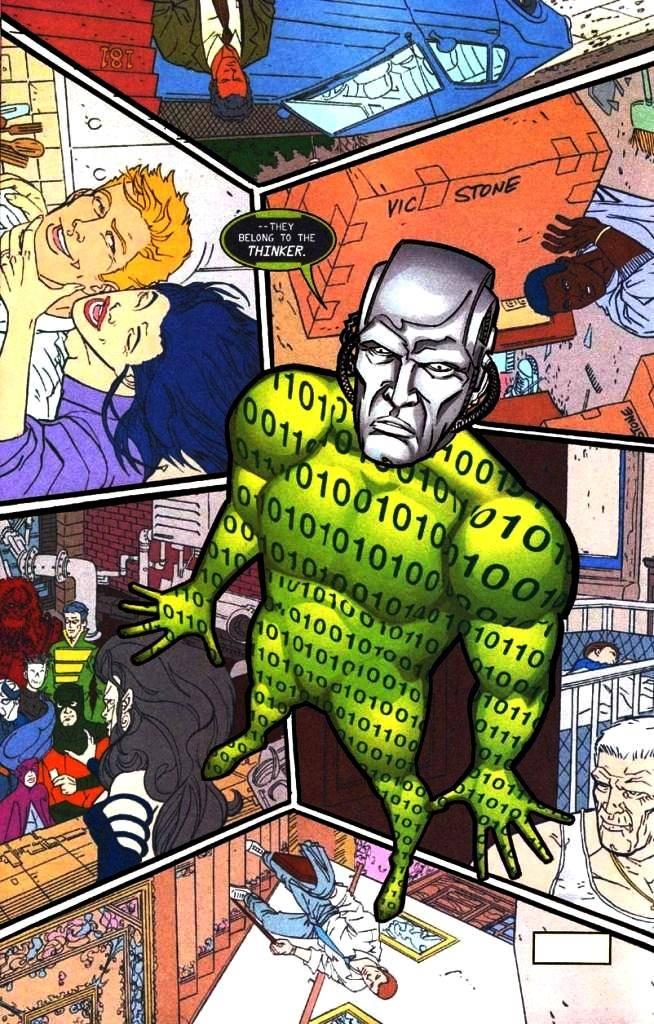 Мыслитель DC Comics и сериал Flash - Stone Forest