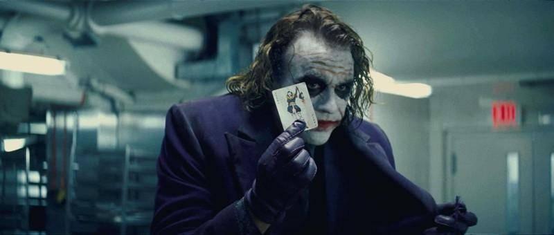 Хит Леджер в роли Джокера - Stone Forest