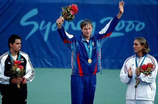 Евгений Кафельников на Олимпиаде - Stone Forest