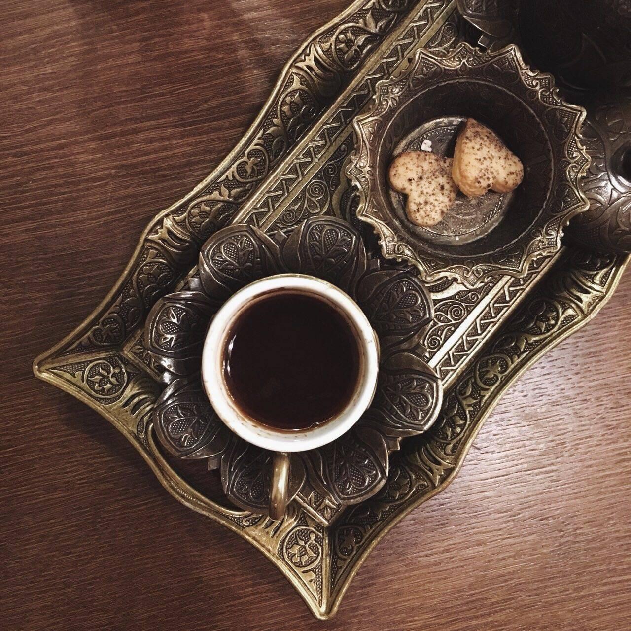 Как готовить кофе в турке. Рецепт от Марины Хюппенен.