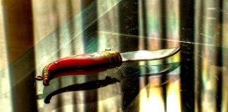 Нож наваха - Stone Forest