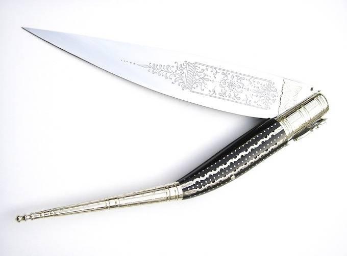Испанский Нож наваха - Stone Forest