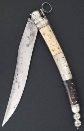 Нож navaja - Stone Forest