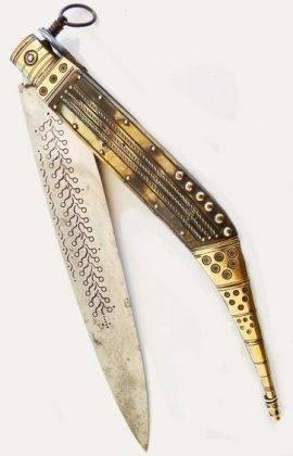 Нож navaja из Испании - Stone Forest