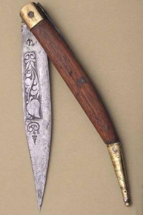 Нож navaja прошлого века - Stone Forest