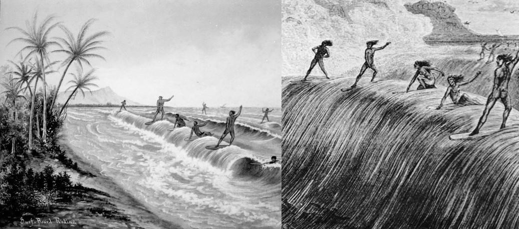 История доски для серфинга - Stone Forest