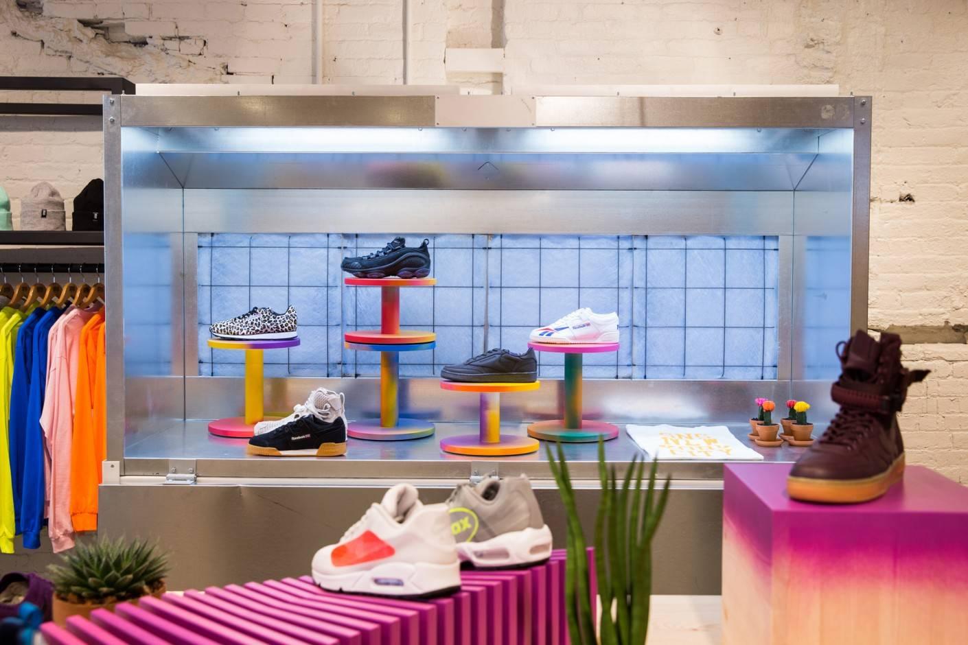 Магазин Sneakersnstuff — кроссовки как искусство