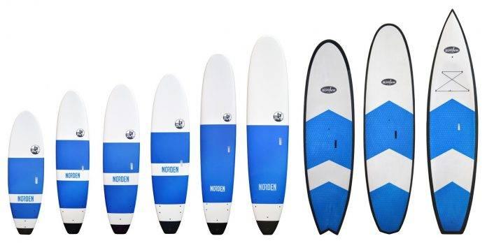 Surfboard mit antrieb