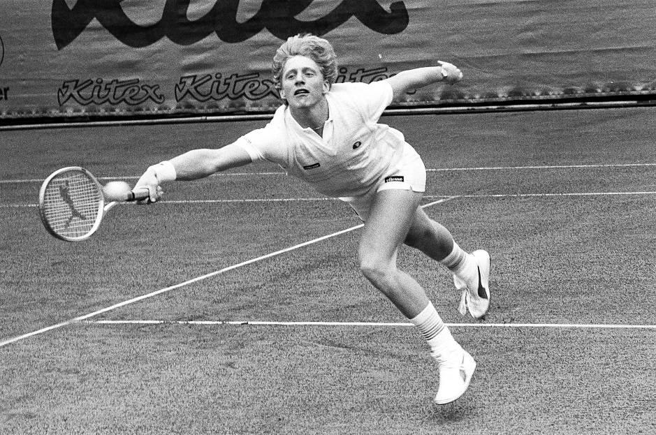 Теннисист Борис Беккер - Stone Forest