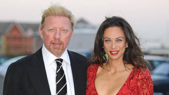 Борис Беккер и жена - Stone Forest