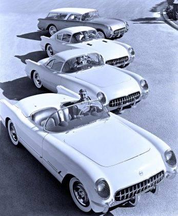 Модель авто Chevrolet Corvair - Stone Forest