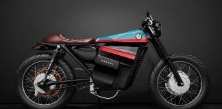 Denzel Model ELectric Cafe Racer 1 - Stone Forest