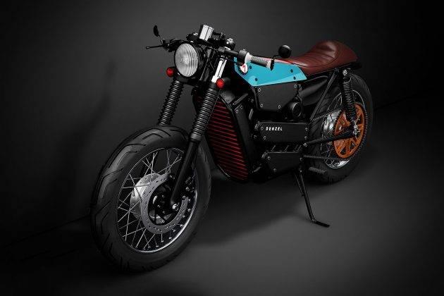 Модель Denzel Model ELectric Cafe Racer 1 - Stone Forest