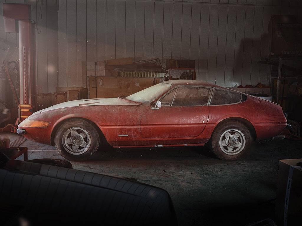 Ferrari Daytona 365 - Stone Forest